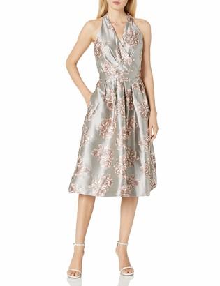 Chetta B Women's Floral Brocade Party Dress