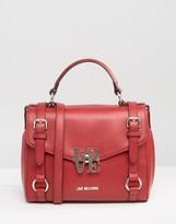 Love Moschino Satchel Buckle Tote Bag