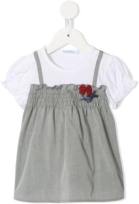 Familiar Short-Sleeved Dress