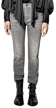Zadig & Voltaire Ava Eco Grey Light Jeans in Gris