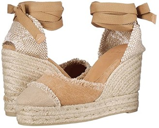 Castaner Catalina 80 Wedge Espadrille (Tostado) Women's Shoes