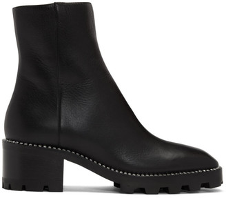 Jimmy Choo Black Crystal Mava Boots