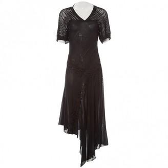 Antonio Berardi Black Silk Dress for Women Vintage