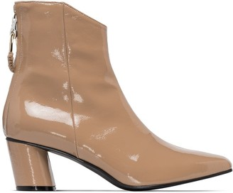 Reike Nen Patent 60mm Ankle Boots