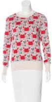 Libertine Printed Cashmere Sweater