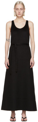 Totême Black Double Wool Tank Dress