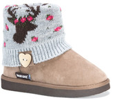 Muk Luks Patti Faux Fur Lined Boot (Toddler & Little Kid)