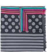 Paul Smith polka dot scarf