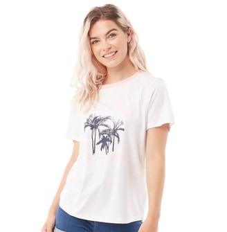 Tokyo Laundry Womens Deia T-Shirt Optic White