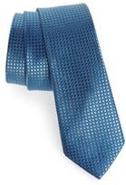 Michael Kors Boy's Dot Grid Silk Tie