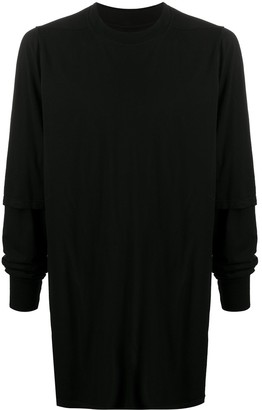 Rick Owens Long Fitted Jumper