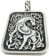 Cascade Sterling Sterling Silver `Epona` Horse Pendant Celtic Roman