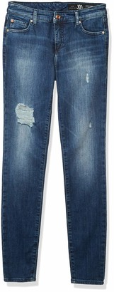 Classic Skinny Fit Five Pocket Denim Jeans A|X Armani Exchange Women's