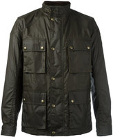 Belstaff Trialmaster Wax jacket - men - Cotton/Viscose - 48