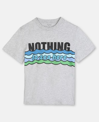 Stella McCartney Nothing To Sea Cotton T-Shirt, Men's