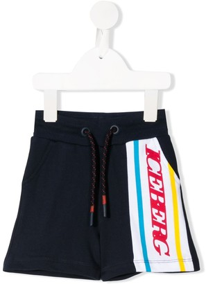 Iceberg Kids Drawstring Sweat Shorts