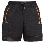 Adidas By Kolor Crocodile-embossed Nylon Performance Shorts