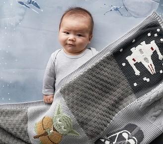 Pottery Barn Kids Star Wars Patchwork Baby Blanket