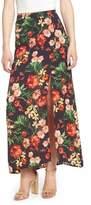 Lush Floral Maxi Skirt