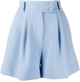 Styland High-Waisted Wide Leg Shorts