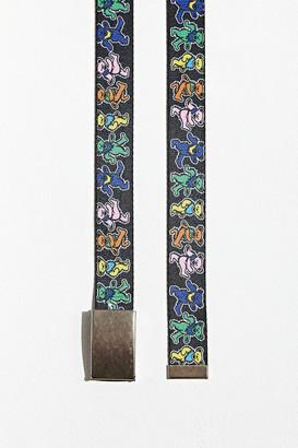 Buckle Down Buckle-Down Grateful Dead Colorful Dancing Bears Belt