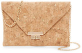 Sondra Roberts Metallic Cork Clutch
