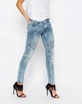 G Star G-Star Elwood 5620 Mid Rise Skinny Jeans