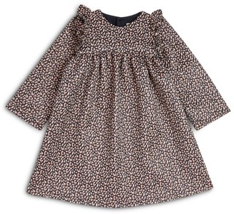 Bonton Leopard Dress (4-12 Years)