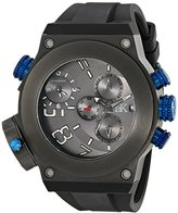 Adee Kaye Men's AK6666-MIPG Bulldozer G-2 Analog Display Swiss Quartz Black Watch