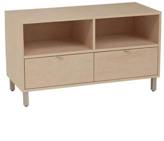 clear Latitude Run Southville Solid Wood TV Stand for TVs up to 48 inches Latitude Run Wood Veneer: Cherry, Color