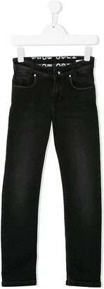 Boss Kidswear Stonewashed Slim-Fit Jeans