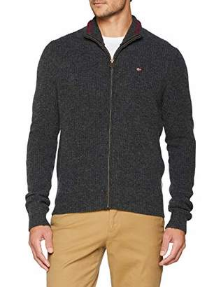 Napapijri Men's Dighil Full Zip Knitwear Jumper