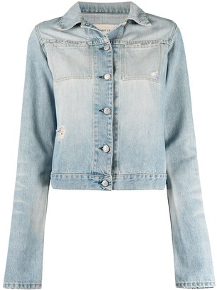 Helmut Lang Pre-Owned 1990s Buttoned Denim Jacket