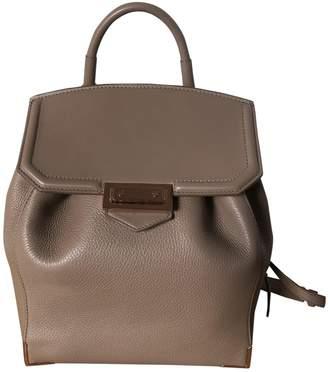 Alexander Wang Prisma Beige Leather Backpacks