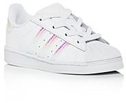 adidas Girls' Iridescent Superstar Slip-On Sneakers - Walker, Toddler