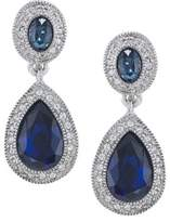 Carolee The Bethany Crystal Drop Earrings