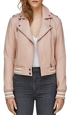 Soia & Kyo Arisa Moto Leather Jacket