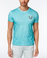 True Religion Men's Textured Graphic-Print T-Shirt