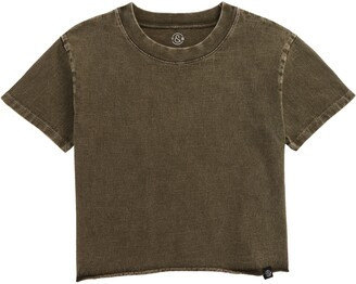 Treasure & Bond Kids' Washed Crop T-Shirt