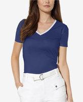 Lauren Ralph Lauren V-Neck T-Shirt