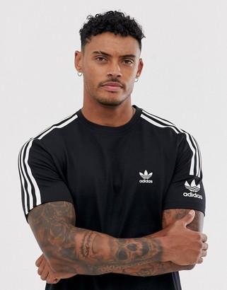 adidas lock up t-shirt in black