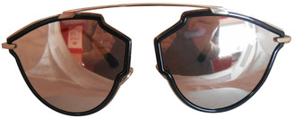 Christian Dior So Real Gold Plastic Sunglasses