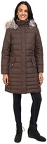 Free Country Poly Air Touch Down Jacket with Faux Fur Trip at Hood