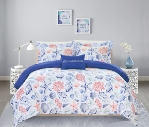 Chic Home Talulah 8 Piece King Bed In a Bag Duvet Set Bedding