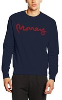 Money Clothing Men's High Build Sig Ape Crew Sports Jumper