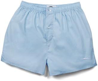 Fleet London Men's Blue Boxer Short