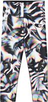 Nike Black Graphic Print Crop Leggings