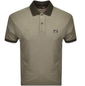 C.P. Company C P Company Short Sleeved Polo T Shirt Green