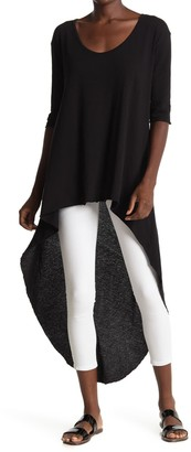 Frank And Eileen High/Low Hem Scoop Neck Tunic