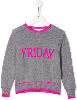 Alberta Ferretti Kids Friday knitted sweater